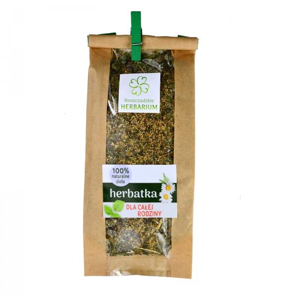 Herbatka ziołowa dla całej rodziny - Bieszczadzkie Herbarium