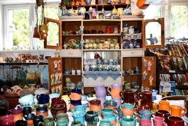 Galeria u Bojków i ceramika Figaro